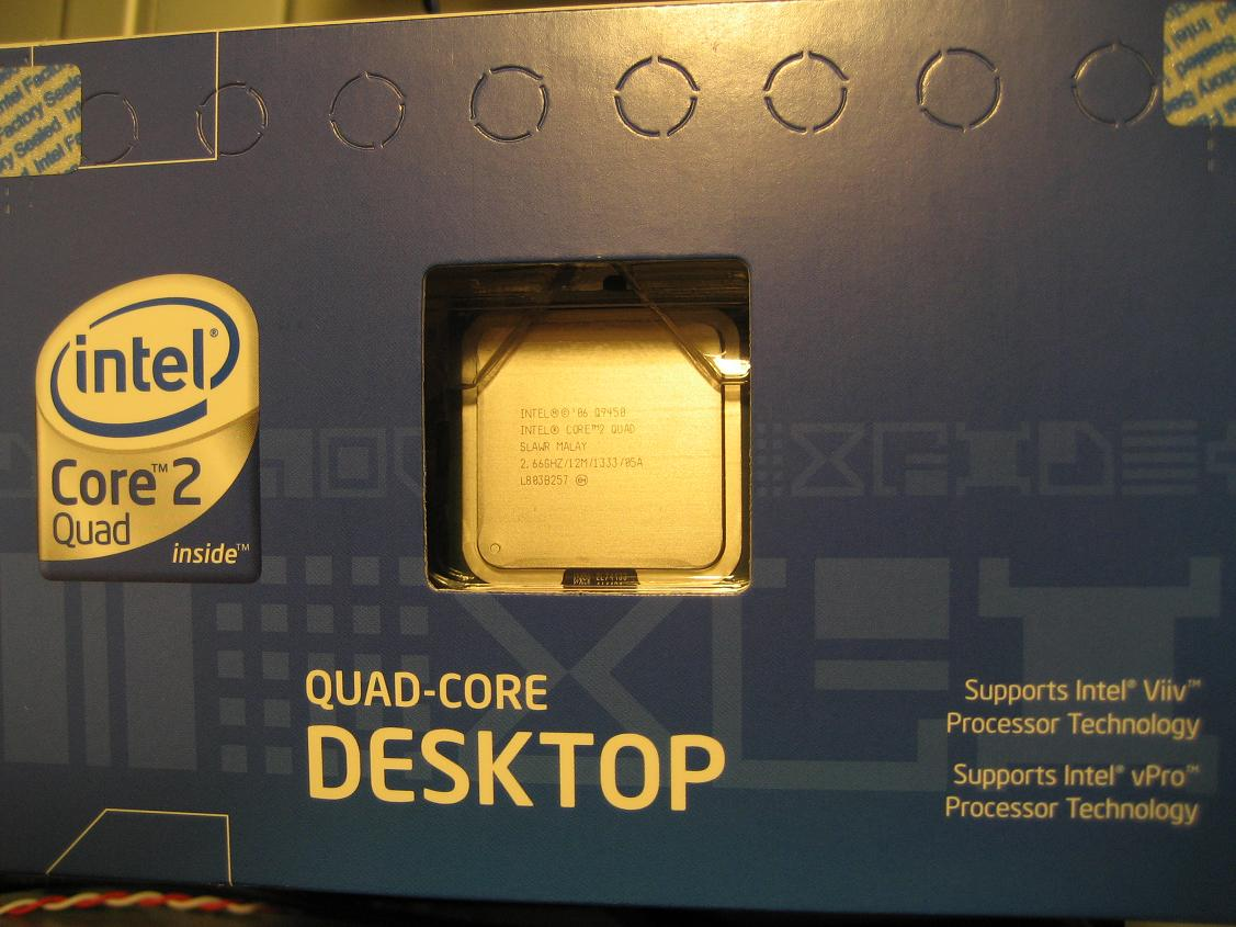 Q9450 Retail Box (Top)