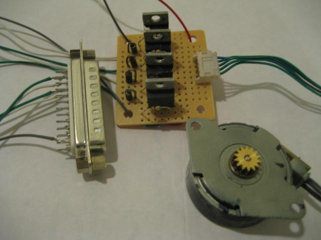 Kerry D Wong Blog Archive A Parallel Port Stepper