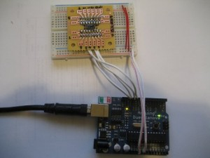 LIS3LV02DL Accelerometer With Arduino