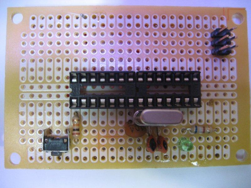Atmel AVR In-System Programmer, Serial Parallel