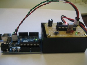 Finished ATmega328 ICSP Board
