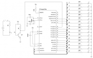 16 LED POV Schematics