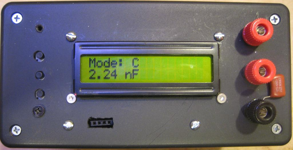 Kerry D  Wong » Blog Archive » AVR LC Meter With Frequency