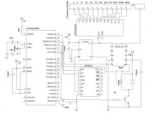 4KHz to 170MHz Signal Generator Schematic