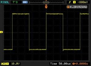 74VHC4040 DIV 4096 Output
