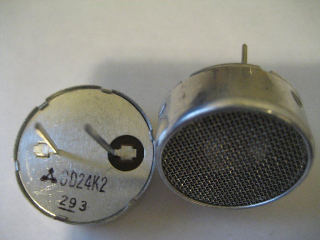 Kerry D Wong Blog Archive A Sensitive Diy Ultrasonic Range Sensor Circuitprojectscomultrasonic Oscillations Which 24 Khz Transducers