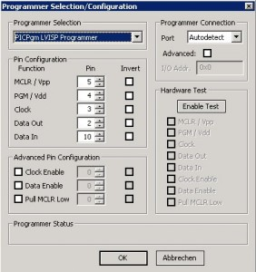 PICPgm Settings 2