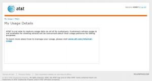 AT&T DSL USage