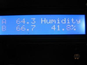Temperature/Humidity Display 2