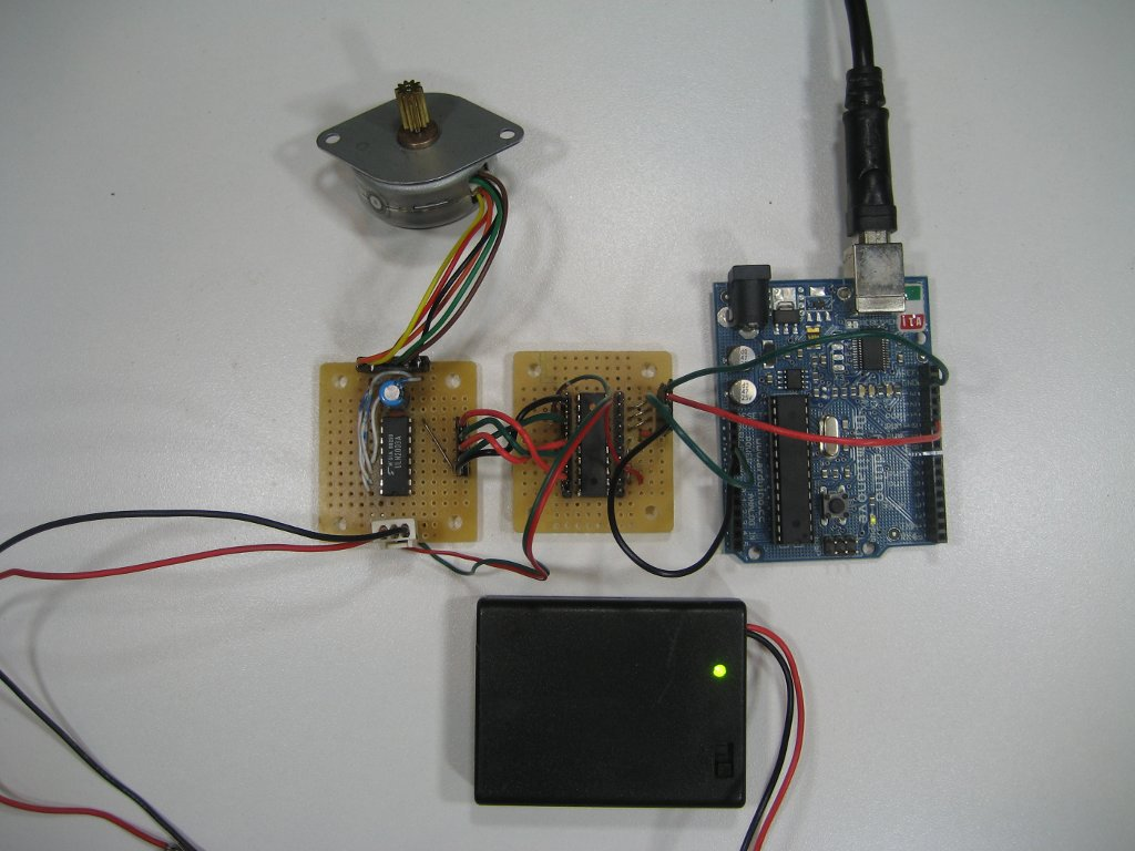 kerry d wong blog archive a unipolar stepper motor driver