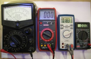 My Multimeters Lineup