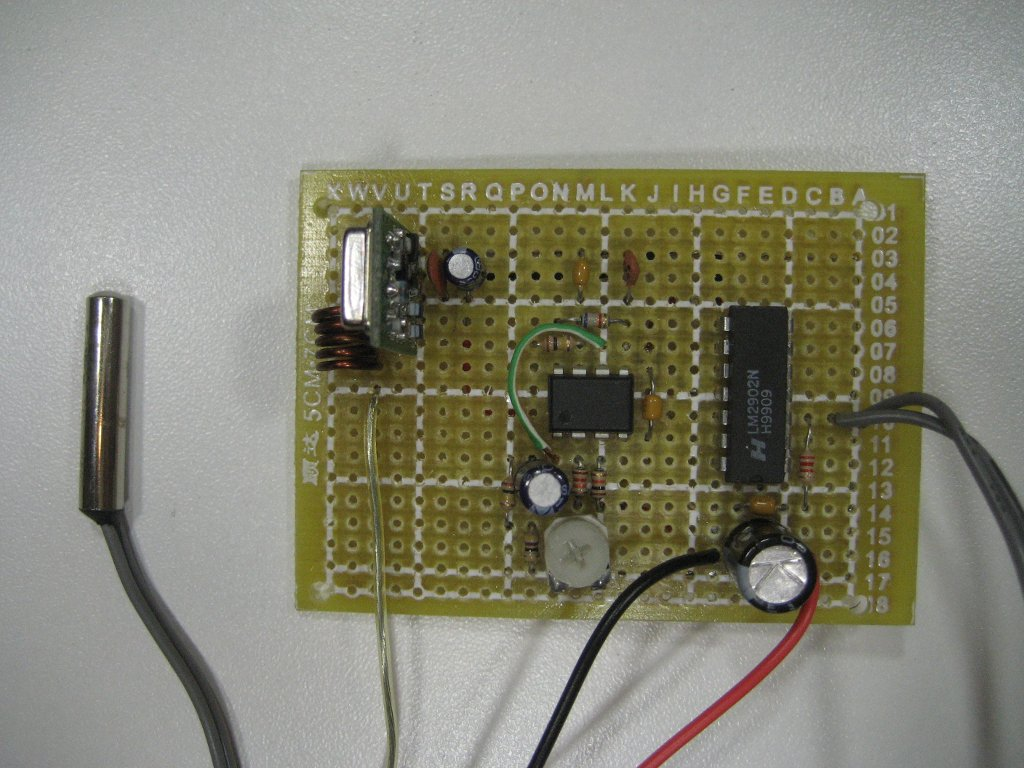 Kerry D Wong Blog Archive Building A Wireless Temperature Sensor Simple Parking Using Lm324 Transmitter