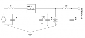 Motor with simple Speed Controller