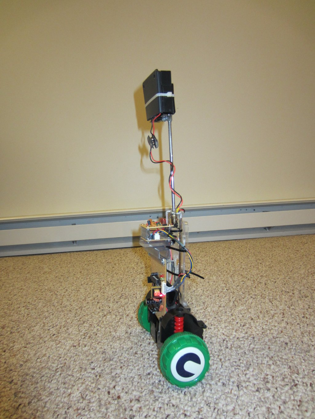 balancebot a self balancing robot Balancing and motor control board this robot uses a dedicated board for balancing and motor control (i want to use raspberry pi only for high level tasks) this board is my design and it uses the following components.