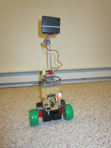 Self-Balancing Robot in Action 2