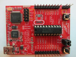 Kerry D  Wong » Blog Archive » Using MSP430 LaunchPad As Programmer