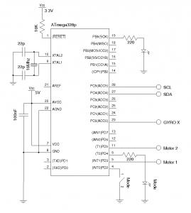 ATMage328P Controller (3.3V)