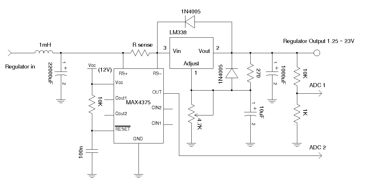 LM338 Power Supply.
