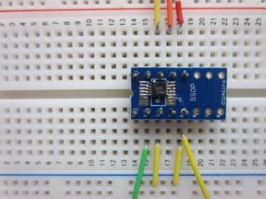 ADS1112 on Protoboard