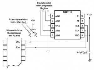 ADS1112 Reference Circuit