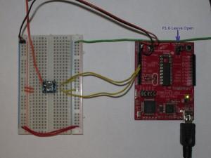 MSP430G2231 I2C Setup