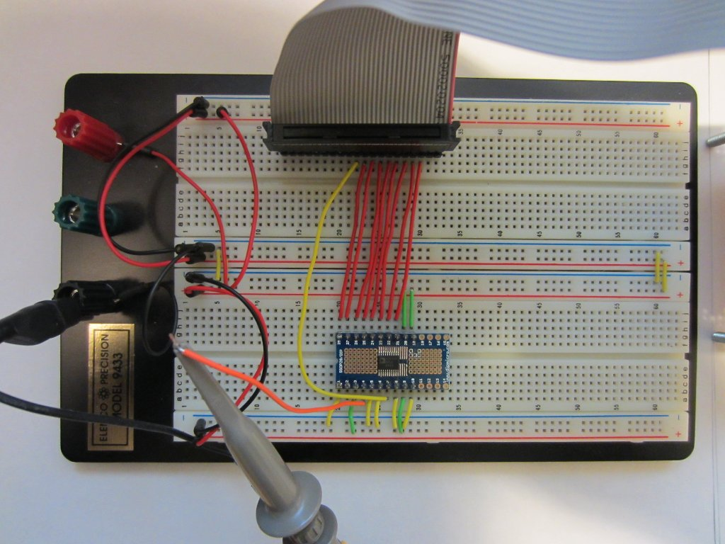 Kerry D  Wong » Blog Archive » Driving 8-Bit Parallel DAC Using