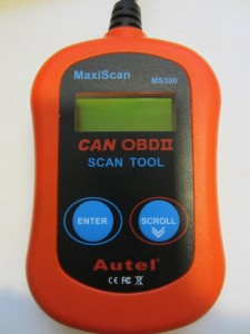 Autel's MaxiScan MS300 ODBII Reader