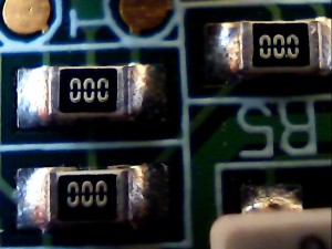 Circuit board closeup 3