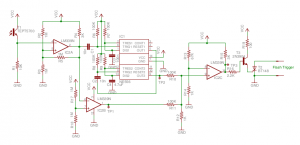 Synchronous Flash Triggering Circuit