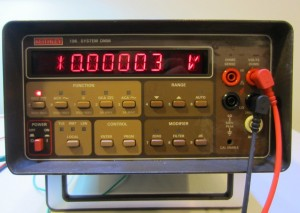 Keithley 196 Front