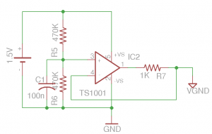 Optional Virtual Ground Circuit