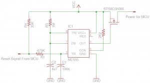 555 Reset Circuit
