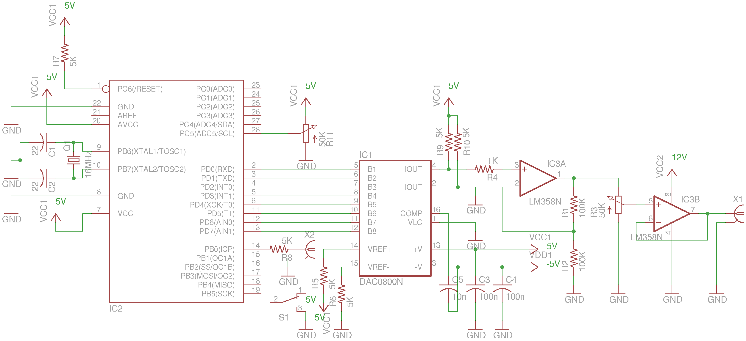 Arduino Function Generator Blog Build Your Own Tone Circuit Diagram Engineersgarage Kerry D Wong Archive Building A Sweep For Bk 4011