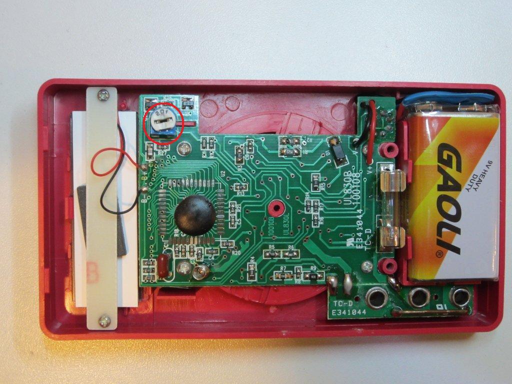 dt 830b digital multimeter схема
