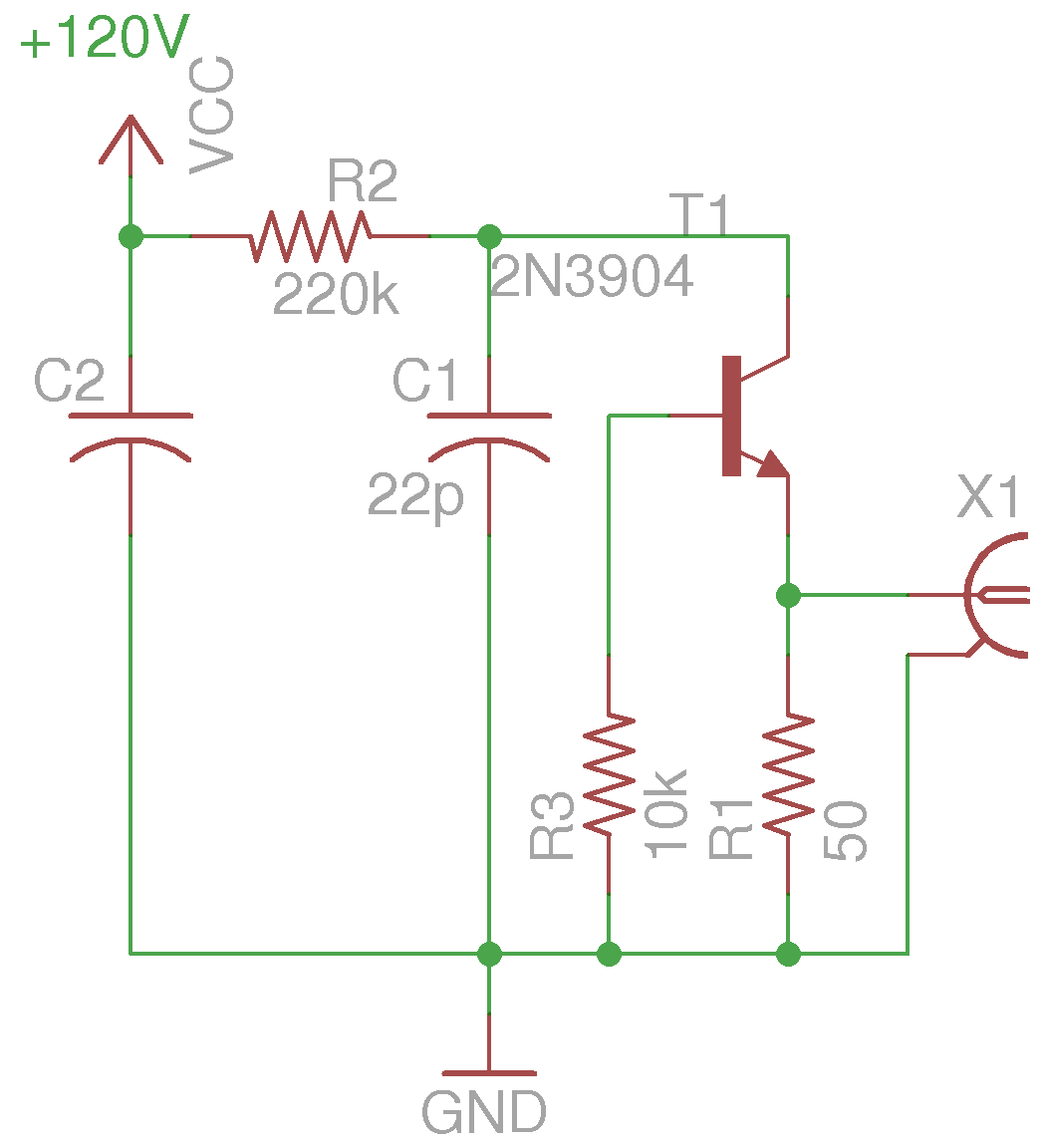 Pulse Generator Schematic Diagrams Crystal Oscillator Signalprocessing Circuit Diagram Seekiccom Kerry D Wong Blog Archive Avalanche Build Using Car 2n3904