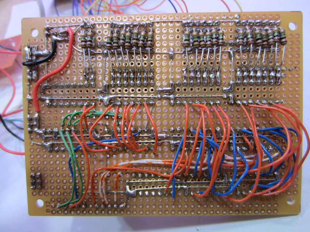 Kerry D Wong Blog Archive A Diy Vacuum Fluorescent Display Driver Vfd Circuit Diagram To Voltage Before Is Purpose 3
