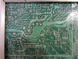 Bottom PCB (HV)