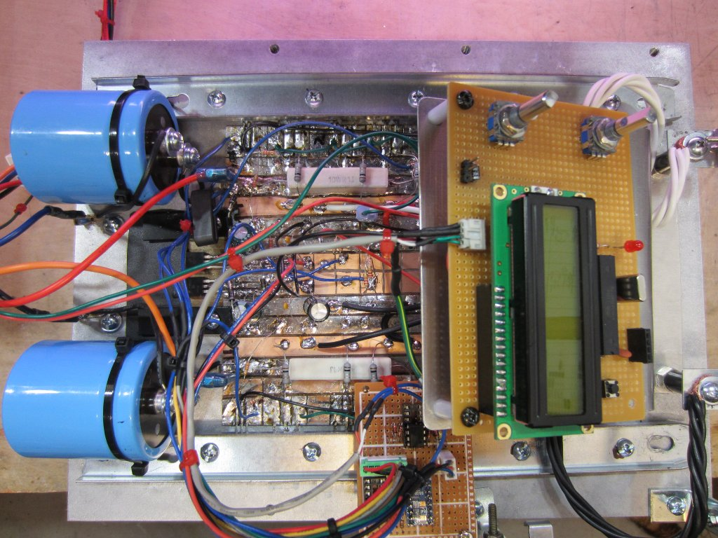 Kerry D Wong Blog Archive A Digitally Controlled Dual Tracking How To Build Current Limiting Bench Power Supply Circuit Diagram Ps 1