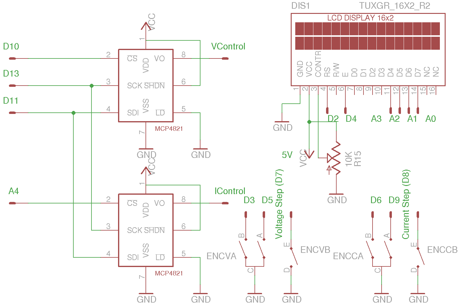 Kerry D Wong Blog Archive A Digitally Controlled Dual Tracking Power Supply Circuit For Laser Diodes In General Should Account To Here Are The Auxiliary Circuits 12v Rails Used Opamps And 5v Rail Is Mcu Dac Needed