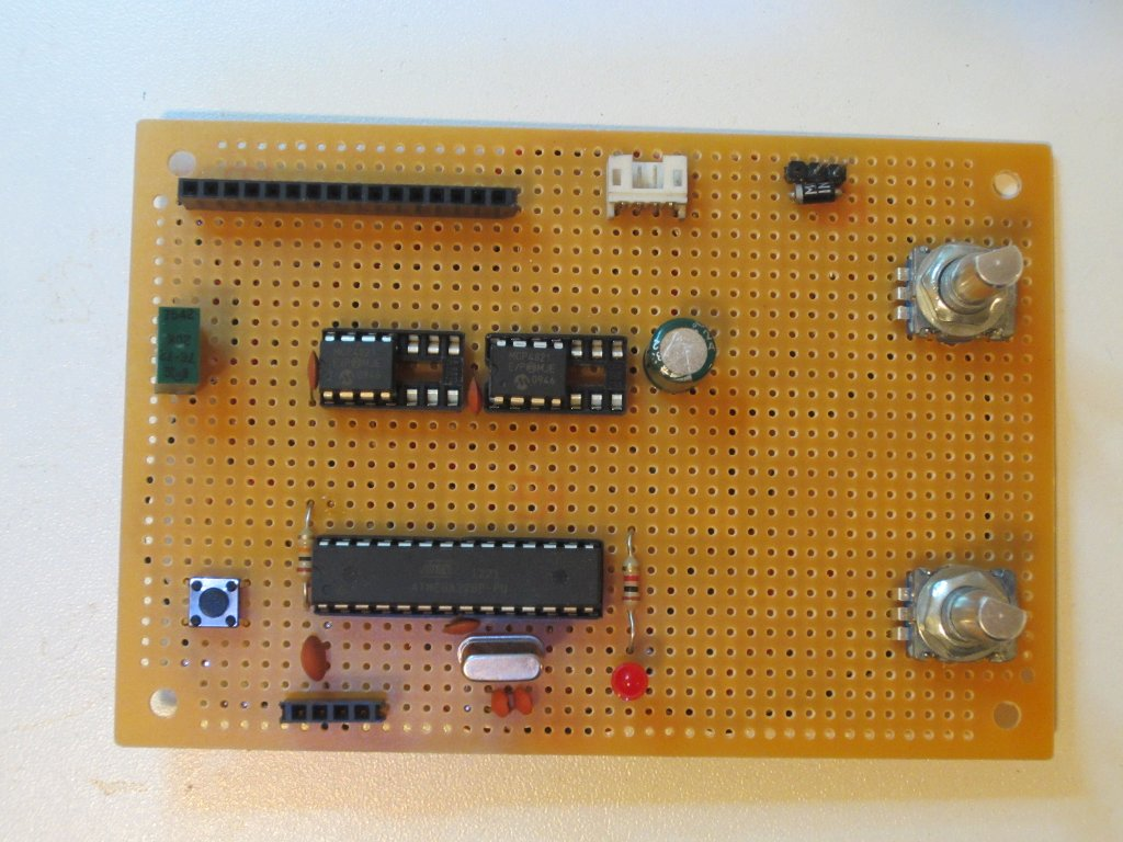 Kerry D Wong Blog Archive A Digitally Controlled Dual Tracking Power Supply Positive Negative Ground From Single And Here Is Picture Showing The Overall Layout Of Transistors For Channel Are Mounted Towards Upper Edge