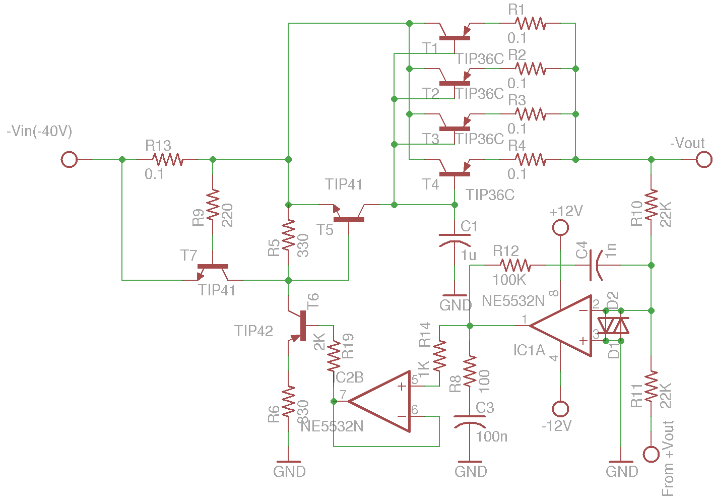 Kerry D Wong Blog Archive A Digitally Controlled Dual Tracking Circuit Diagram Of 9 Volt Power Supply I Used Two Mcp4821s To Drive The Voltage Control Opamp And Current Since Ive Got Quite Few These Single 12 Bit Dacs
