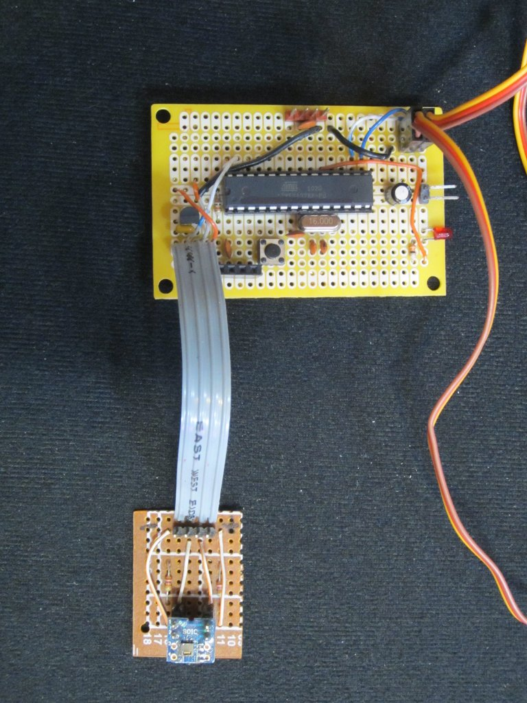 Kerry D Wong Blog Archive A Digital Thermometer Hygrometer With Simple Avr Schematic Themohygrometerboard Themohygrometer