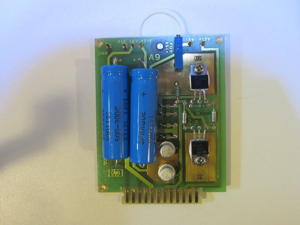 Kerry d wong blog archive hp 436a power meter teardown today the entire circuitry of hp 436a can probably be handled by a couple of chips freerunsca Choice Image