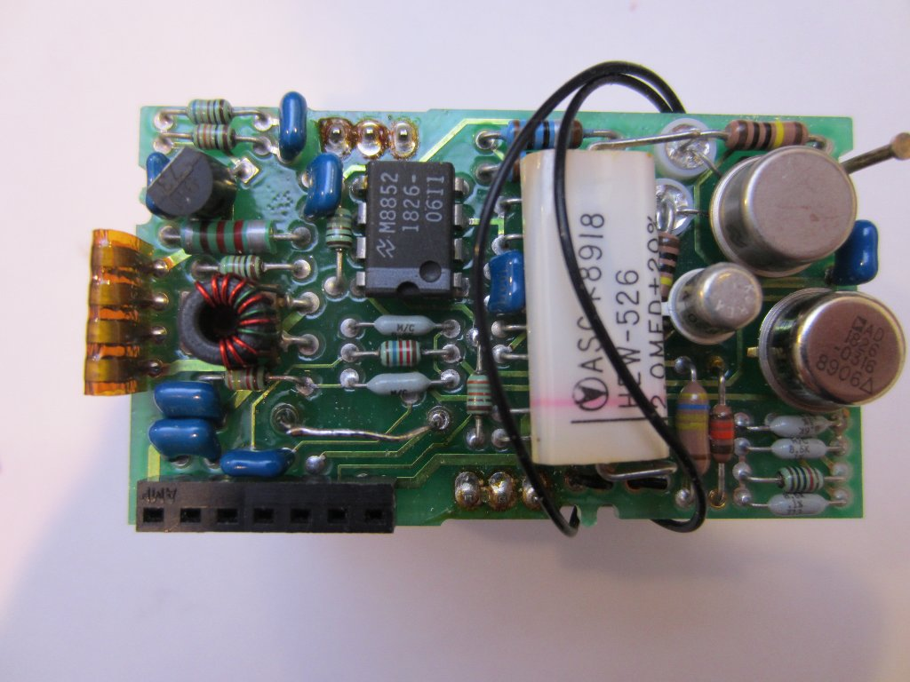Kerry D Wong Blog Archive Hp 5350b Ocxo Repair Fix Circuit Board Now My Seems To Be Fully Functional After This At Power On It Draws Around 45w And Five Minutes The Oven Indicator Would Turn Off