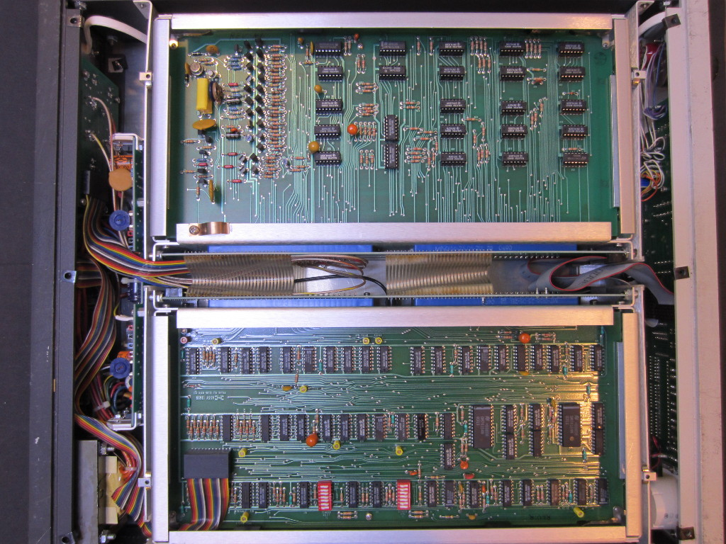 Kerry D Wong Blog Archive Wavetek 1045 Rf Power Meter Teardown Electrical Wiring Practice Board All Boards Are Double Sided And Components Mounted On A Single Side Only Common For Through Hole Placement