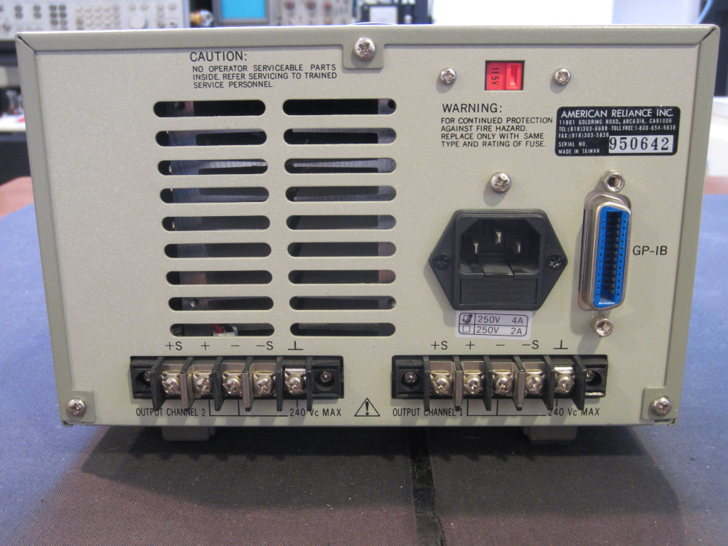 Kerry D  Wong » Blog Archive » Amrel PPS-2322 Programmable