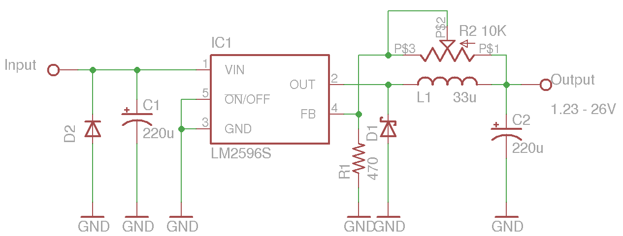 5v Power Supply Using 7805 furthermore Lm2596 Dc Dc Converter Module Testing also m Control Speed Motor 12v By Tl494 besides 730 besides Dc To Voltage Converter Schematic. on simple 5v dc power supply