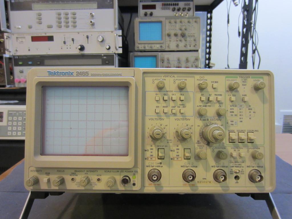 Best Tektronix Oscilloscope : Kerry d wong archive teardown of a tektronix