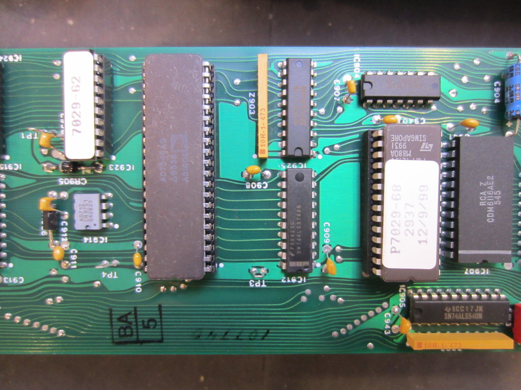 Kerry D Wong Blog Archive Bertan Spellman 225 20r Hv Power Circuits 8085 Projects Factor Meter Circuit Note The Datecode On Chip While Almost All Other Ics Were Made In 1999 But This Was Actually 1976