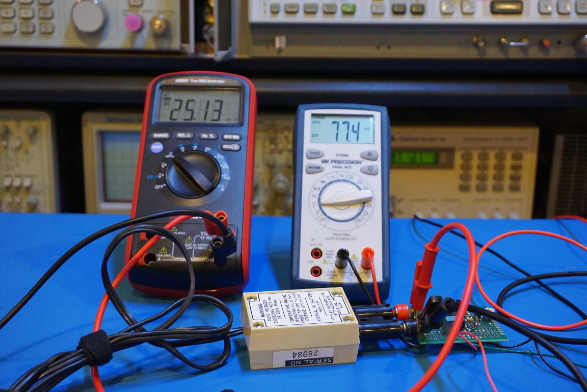 Kerry D Wong Blog Archive Converting Celsius To Fahrenheit Your First Digital Analog Converter Build Hackaday In The Video Below You Can Me Calibrating This And Doing Some Measurements